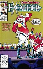 Excalibur Comic Issue 17 Modern Age First Print 1989 Chris Claremont Alan Davis