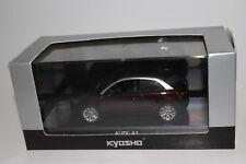 Audi A1 Shiraz Red Metallic KYOSHO MODEL 1/43 Scale, Boxed