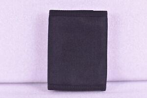 Hurley Patrol Tri - Fold Wallet w/ Full Logo, Black / Black
