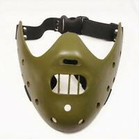 Hannibal Lecter Mask Silence of the Lambs Cool Cosplay Props Halloween Horror