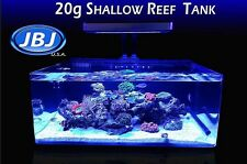 JBJ 20 Gallon Coral Frag Tank Filter Included Freshwater Saltwater Aquarium