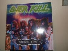 Overkill - Taking Over, Vinyl LP 1987.very good