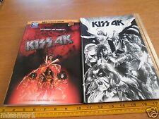 KISS 4K RARE HBDJ comic book Wetta French 108 pgs Sprague Crossley Campos
