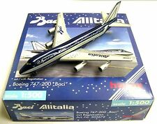NEW HERPA WINGS 502672 BACI ALITALIA BOEING 747-200 SCALE 1:500 RARE - NIB MIB