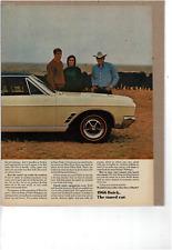 1966 BUICK SKYLARK GRAN SPORT 2 DOOR COUPE 325HP WILDCAT ENGINE  AD PRINT H267