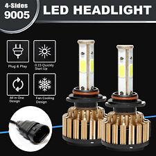 2pcs 9005 HB3 LED Headlight Bulbs Kit High Beam Light 18000lm Replace HID 6000k