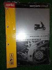 APRILIA SR50 H2O CARB +I.E. SPARE PARTS ILLUSTRATED MANUAL 2000-2002 MODELS