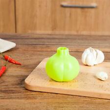 Design Rubber Silicone Garlic Press Crusher Zester Kitchen Gadget Peeler Tool