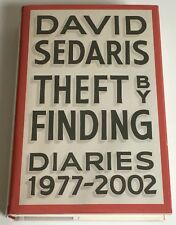 David Sedaris Theft by Finding: Diaries (1977-2002) SIGNED 1st NEW & UNREAD