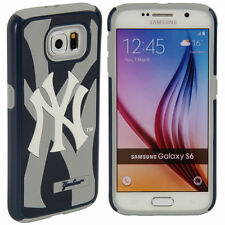 For Samsung Galaxy S6 ONLY New York Yankees MLB Dual Hybrid 2 Piece Case