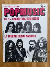 POP MUSIC N°130 (02/1973) VARIATIONS - BLACK SABBATH -
