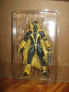mcfarlane GOLD label SPAWN MORTAL KOMBAT II LOOSE walmart exclusive NEW OUT OF