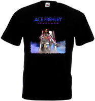 Ace Frehley Spaceman v13 T-shirt black hard rock heavy metal all sizes S-5XL