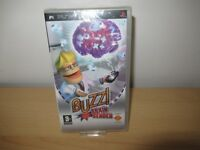 Buzz Brain Bender (Sony PSP, 2008) pal new sealed