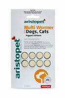 Aristopet Multi Wormer Worming Tablets for Dogs Cats Puppies & Kittens  - 8 Pack