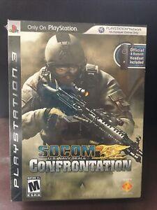 SOCOM: U.S. Navy SEALs Confrontation [Headset Bundle](PlayStation 3, 2008) New