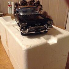 Franklin / Danbury mint Cadillac BROUGHAM1957 limited edition BLACK