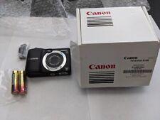 Canon PowerShot A1400 16.0 MP Digital Camera - Black (Canon refurbished)