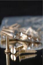 Wood Screws Flat Head Slotted Bronze #6x1 WSBRZ61