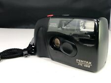 Pentax Pc-100 Focus Free P&S 35Mm Film Camera Auto Winding - Working - Near Mint