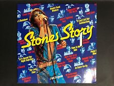 THE ROLLING STONES L.P RECORD STONES STORY DOUBLE ALBUM MADE IN NETHERLANDS
