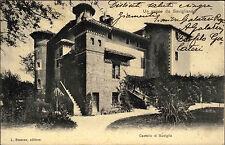 Savigliano Italia Piemonte 1904 Castello di Suniglia castle castello casa editrice Bessone
