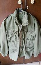 1972 Vietnam War OD M-65 Field Jacket, SMALL REGULAR, M-1965 Coat, military