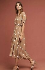 New Maeve Breanna Polka Dot Wrap Dress Size 16