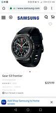 Samsung Gear S3 Frontier Smartwatch 46mm - Dark Gray