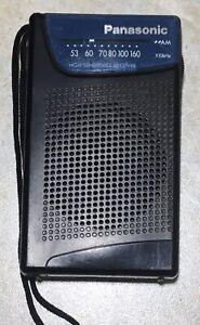 Panasonic R-1005 AM Portable Pocket Radio - Works Great