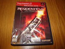 Playstation 2 Greatest Hit's RESIDENT EVIL OUTBREAK Game Capcom