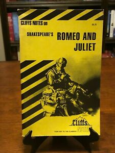 ROMEO AND JULIET by William Shakespeare (CLIFFS NOTES) 1992 - BRAND NEW