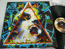 "Def Leppard Hysteria Spain Edition 1987 Phonogram - LP Vinyl 12"" VG/VG"