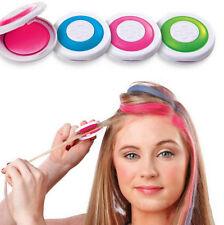 Hair Chalk Powder Christmas DIY Temporary Wash-Out  Dye Hair Powder Cakes
