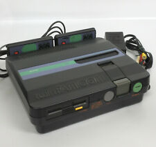 TWIN FAMICOM SHARP Console System AN505BK FREE SHIPPING Disk Tested 521957