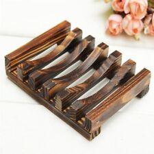 Popular Wooden Soap Dish Bathroom Shower Bathing Sponge Plate Holder Wood Shelf