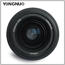 Yongnuo YN35mm F/2 Lens 1:2 AF / MF Wide-Angle Auto Lens for Nikon DSLR Camera