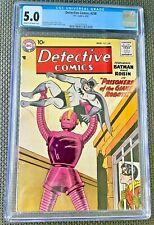 Detective Comics #258 CGC 5.0 Batman Silver Age DC Comics Robot Cover HTF