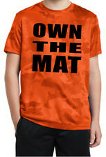New Camo Wrestling Moisture Wicking Shirt in Youth and Adult Sizes