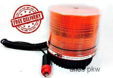 24V Warnleuchte Rundumlicht Rundumleuchte Blinkleuchte Pannenlicht LED Orange