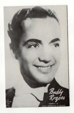 Buddy Rogers 1940's-50's Mutoscope Music Corp of America Arcade Card Postcard