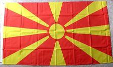 Macedonia International Country Polyester Flag 3 X 5 Feet