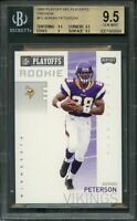 2007 playoff nfl playoffs preview #p2 ADRIAN PETERSON rc BGS 9.5 (9.5 9.5 9 9.5)