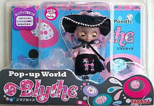 Takara Tomy 11cm Petite Blythe Doll Pinky Doodle Poodle 1/12 Fashion Doll