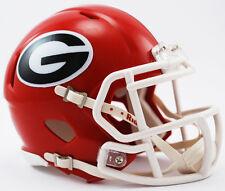 *CUSTOM* GEORGIA BULLDOGS Riddell Revolution SPEED Mini Football Helmet UGA