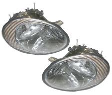 96 97 98 99 Taurus Left & Right Headlight Headlamp Lamp Light Assembly Pair L+R