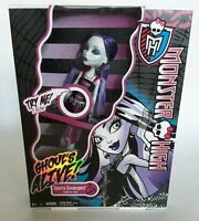 Spectra Vondergeist Monster High Doll ~ Ghouls Alive~ SOUNDS~ GLOWS ~ NEW!