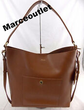 Lauren Ralph Lauren Newbury Pocket Hobo TAN $198