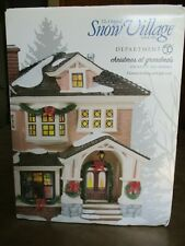 Original Snow Village Department 56 Christmas at Grandma's Hand Painted Ceramic