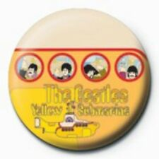 BEATLES portholes - BUTTON BADGE official merchandise - lennon & mccartney